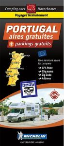 Michelin Motorhome Park Map - Portugal