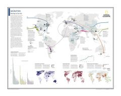 Migration: Moving to Survive - Atlas of the World, 10th Edition Map