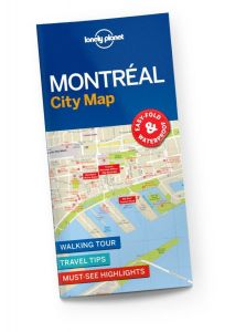 Lonely Planet - City Map - Montreal