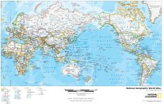 National Geographic World Atlas Map
