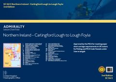 Admiralty Leisure Chart Folio - Northern Ireland
