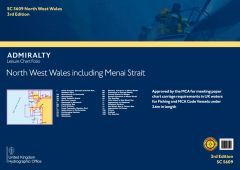 Admiralty Leisure Chart Folio - North West Wales, inc Menai Strait