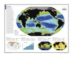 Oceans: Planet Ocean - Atlas of the World, 10th Edition Map