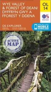 OS Explorer Active - 14 - Wye Valley & Forest of Dean