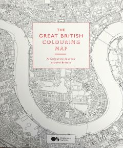 The Great British Colouring Map (Ordnance Survey)