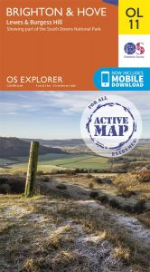 OS Explorer Active - 11 - Brighton & Hove