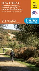 OS Explorer Leisure - OL22 - New Forest