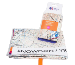 Ordnance Survey - Microfibre Towel Large - Snowdon