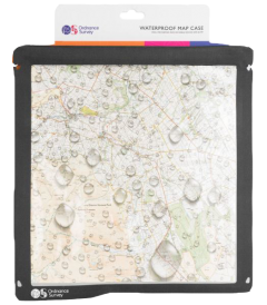 Ordnance Survey - Map Case - Grey