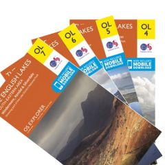 OS Explorer - Lake District Bundle