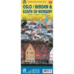ITMB - World Maps - Oslo / Bergen & South of Norway