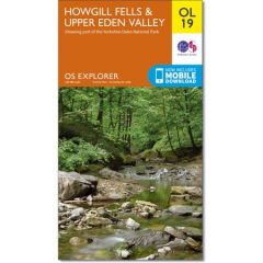 OS Explorer Leisure - OL19 - Howgill Fells & Upper Eden Valley