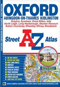 A-Z Street Atlas - Oxford