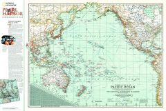 Pacific Ocean Theater of War 1942  -  Published 2001 Map