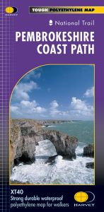 Harvey National Trail Map - Pembrokeshire Coast Path