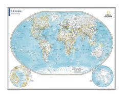 Political World Map - Atlas of the World, 10th Edition Map