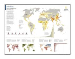 Population: Life on a Crowded Planet - Atlas of the World, 10th Edition Map