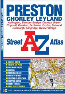 A-Z Street Atlas - Preston