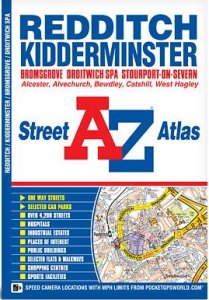 A-Z Street Atlas - Redditch