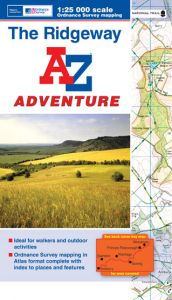 A-Z Adventure Atlas - The Ridgeway