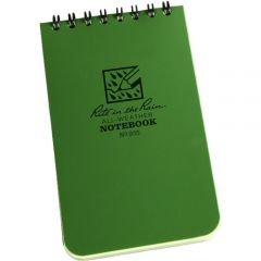 Rite In The Rain - Universal Notebook - 3 X 5 - Green