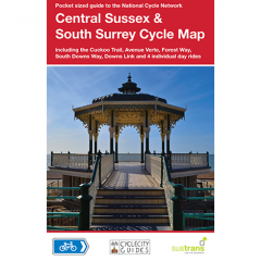 Sustrans National Cycle Network - Sussex & S Surrey Cycle Map (7)