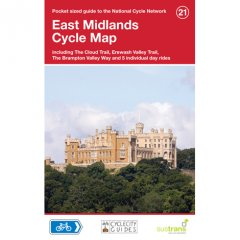 Sustrans National Cycle Network - East Midlands Cycle Map (21)