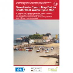 Sustrans National Cycle Network - South West Wales Cycle Map (13)
