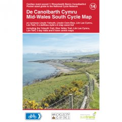 Sustrans National Cycle Network - Mid Wales South Cycle Map (14)