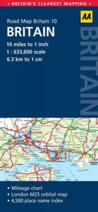 AA - Road Map Britain - Britain