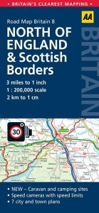 AA - Road Map Britain - North Of England & Scottish Borders