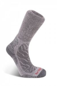Bridgedale Merinofusion Trail - Socks Grey / Large (9-11.5) (14)