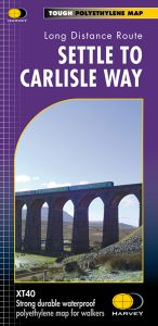 Harvey National Trail Map - Settle to Carlisle