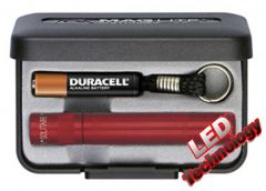 Maglite - Solitaire LED Presentation Pack - Red Torch (31)