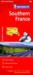 Michelin National Map - 725-France (Southern)
