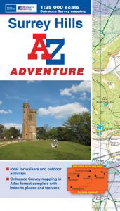 A-Z Adventure Atlas - Surrey Hills