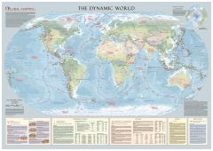 The Dynamic World Wall Map - Large Map