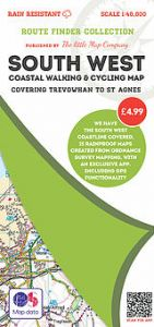 The Little Map Company - Route Finder - Trevowhan To St Agnes