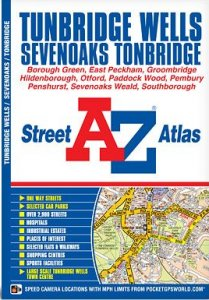 A-Z Street Atlas - Tunbridge Wells