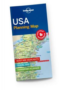 Lonely Planet - Planning Map - USA