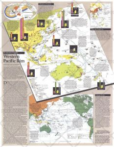 Western Pacific Rim  -  Published 1989 Map