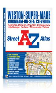 A-Z Street Atlas - Weston Super Mare