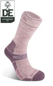 Bridgedale - Hike MW Merino Performance Socks Berry / Medium (5-6.5) (3)