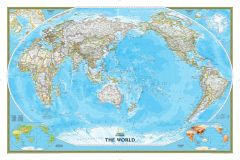 World Classic, Pacific Centered Map