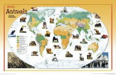 World of Animals - Published in 2004 Map
