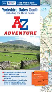 A-Z Adventure Atlas - Yorkshire Dales South