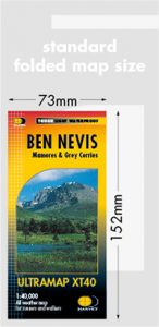 Harvey Ultra Map - Ben Nevis XT40