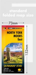 Harvey Ultra Map - North York Moors East - XT40