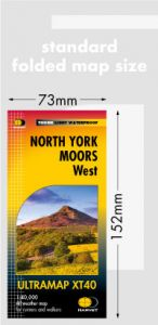 Harvey Ultra Map - North York Moors West - XT40
