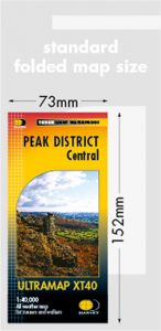Harvey Ultra Map - Peak District Central XT40